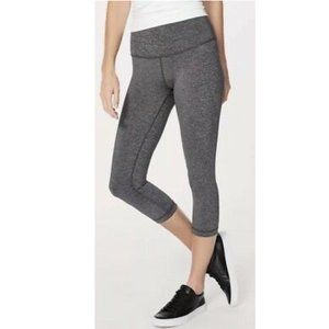 Lululemon Athletica Gray Cropped Leggings